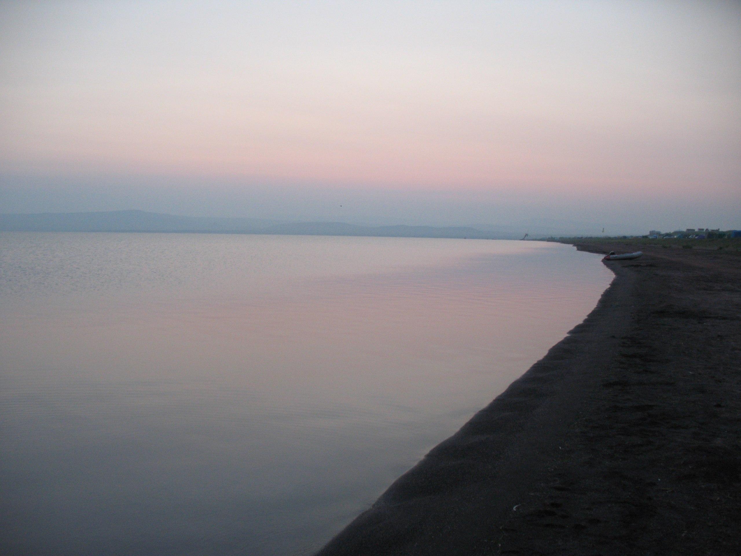 Озеро Беле, рассвет