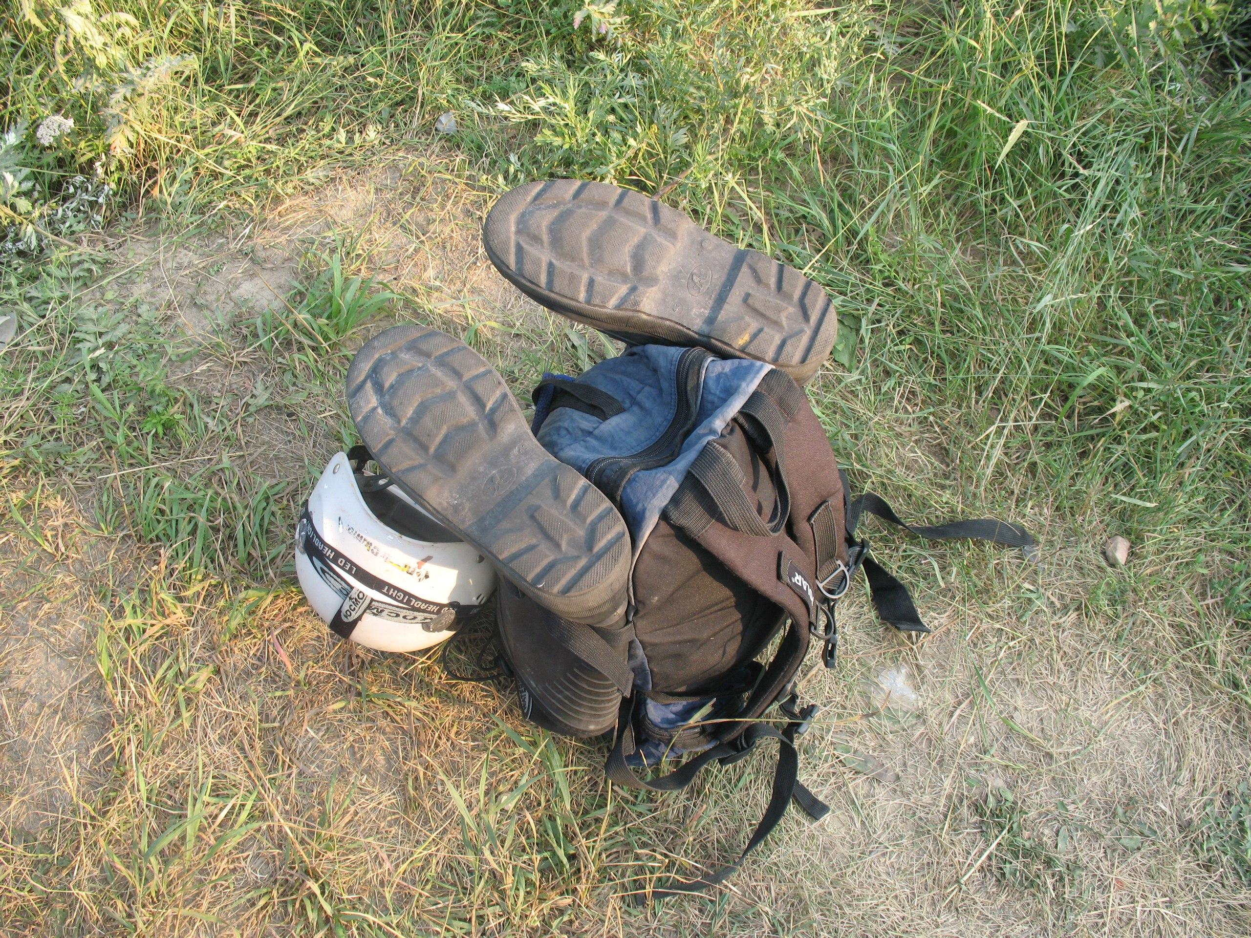 Рюкзак с ногами