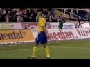Хенрик Ларссон гол в ворота сборной Исландии 2005 год