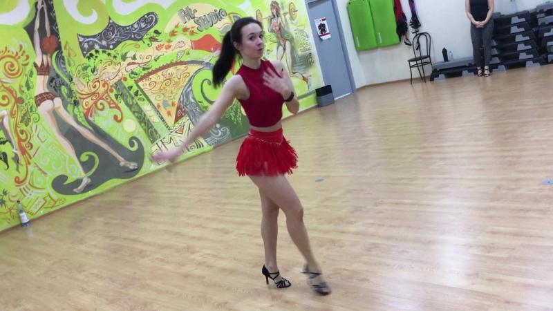 Art Queens Dance Day 2 Latina class Cha cha cha choreo by Anna Petrova