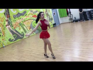 Art Queens Dance Day  2| Latina class | Cha-cha-cha choreo by Anna Petrova