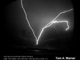 Молния в Рапид - Сити ( Южная Дакота ) ...