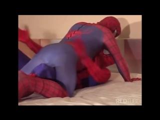 Spider-man ass slap - jingle bells