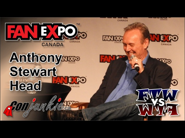 Anthony Head (Buffy the Vampire Slayer, Merlin) FAN eXpo Canada 2017 - Panel