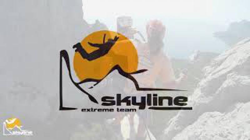 Никита Ильяс-Кая прыжки с верёвкой в Крыму с командой Skyline