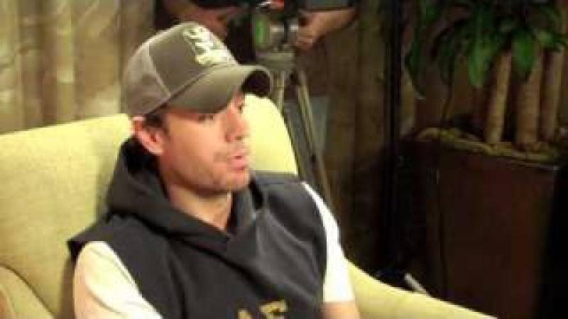 Enrique Iglesias - Best Interview Ever with Chuey Martinez