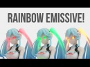 MMD Rainbow Emissive Tutorial Ray MMD 1 3 1