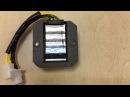 Стабилизатор реле регулятор напряжения 6 ти проводной 125сс, 150сс 152QMI, 157QMJ