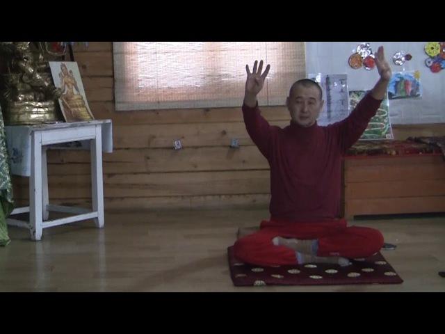 Пранаяма йога ведёт Самдан лама