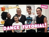 DESCENDANTS 2 - Kenny Ortega &amp Thomas Doherty are teaching us to dance!