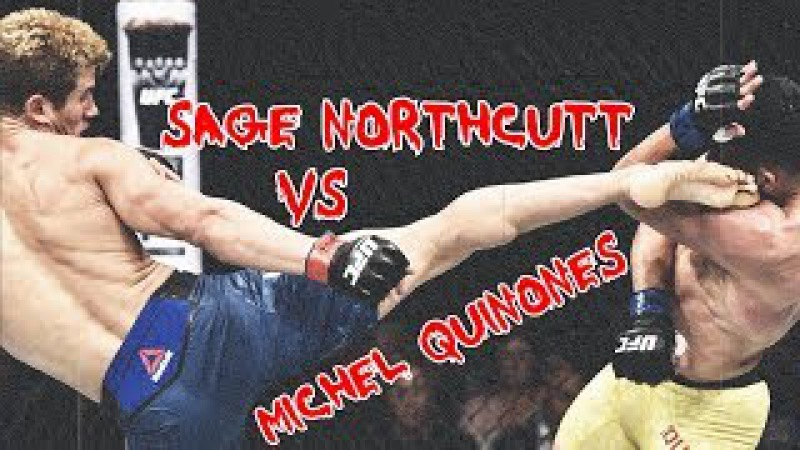 Sage Northcutt vs Michel Quinones [FIGHT HIGHLIGHTS]