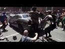Dodge Challenger vs. Antifa