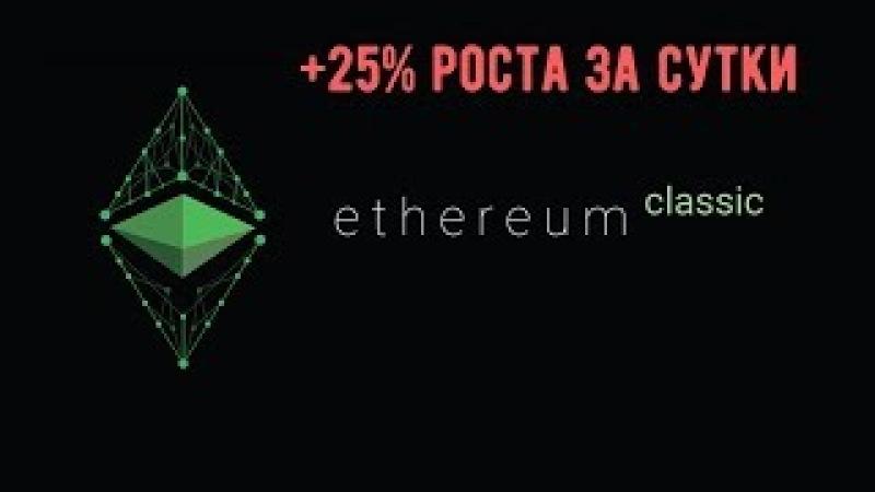 Ethereum Classic растет в преддверии Callisto