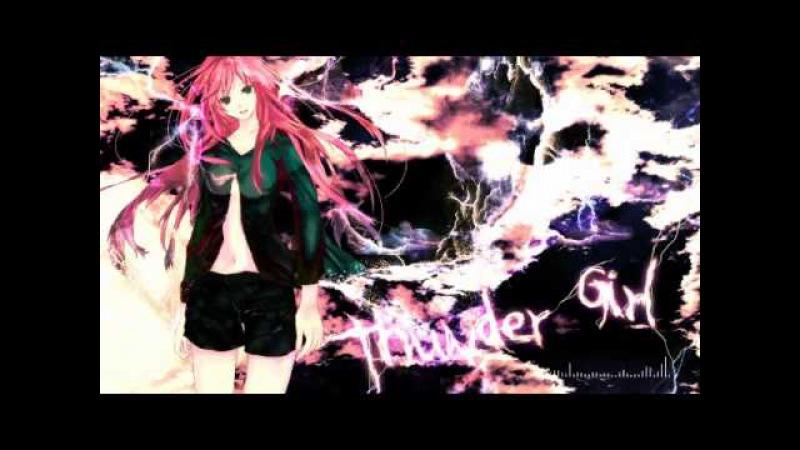 【Megurine Luka】Thunder Girl ( Yuyoyuppe )