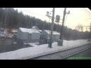 Pierwouralsk Jekaterynburg z okna pociągu Первоуральск Екатеринбург из окна поезда