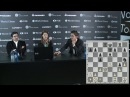 Round 3 Press conference with Aronian and Kramnik