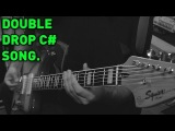 Double Drop C# Djent Metal Song (Squier Vintage Modified Baritone Jazzmaster) - Andrew Baena