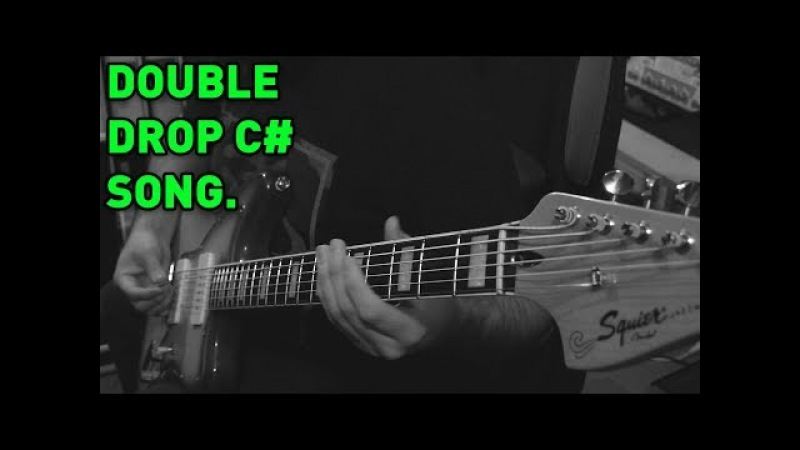 Double Drop C Djent / Metal Song (Squier Vintage Modified Baritone Jazzmaster) - Andrew Baena