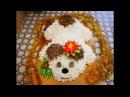 3D торт СОБАЧКА Новогодний торт Украшение торта Рецепт торта ВКУСНЫЙ НЕЖНЫЙ АРОМАТНЫЙ торт