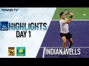 Highlights Federer Faces Delbonis Verdasco Advances Indian Wells 2018