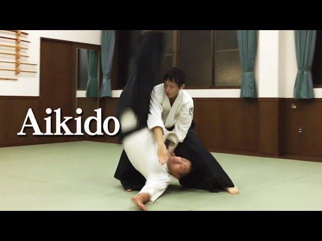 合気道 柔らかで美しい自由技02 Beautiful Aikido - Jiyu Waza