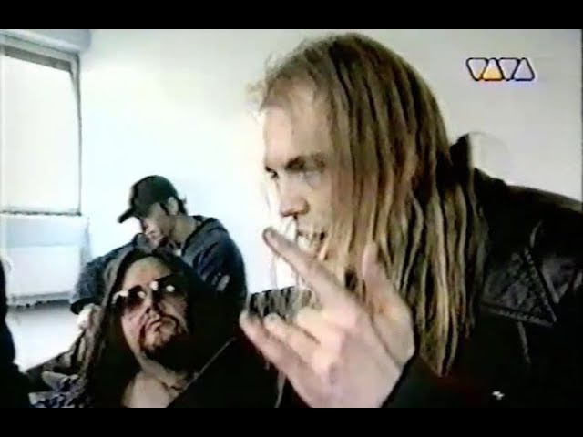 Strapping Young Lad - Vancouver 1997 Köln 1997 (TV) Live Interview