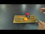 Physics marble track review part one // Homemade Science with Bruce Yeany