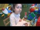 Детская площадка и большой батут в парке Родник