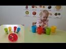 РАЗВИВАЮЩИЕ ЗАНЯТИЕ ДЛЯ ДЕТЕЙ. Учим фрукты.