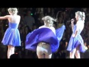 0757 Синее вечернее платье (Задрало ветром)