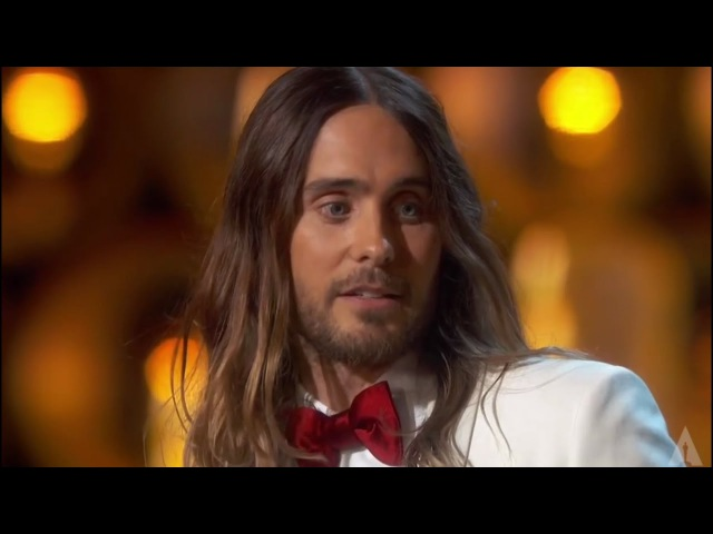 Jared Leto - They dont give Oscars to people like me