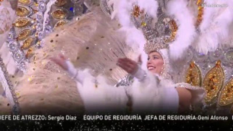 Gala Reina adulta S C Tenerife 2018