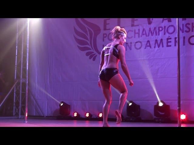 1º LUGAR POLE DANCE ÉLITE FEMENINO
