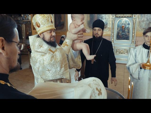 Глава Мелекесской епархии совершил Таинство Крещения