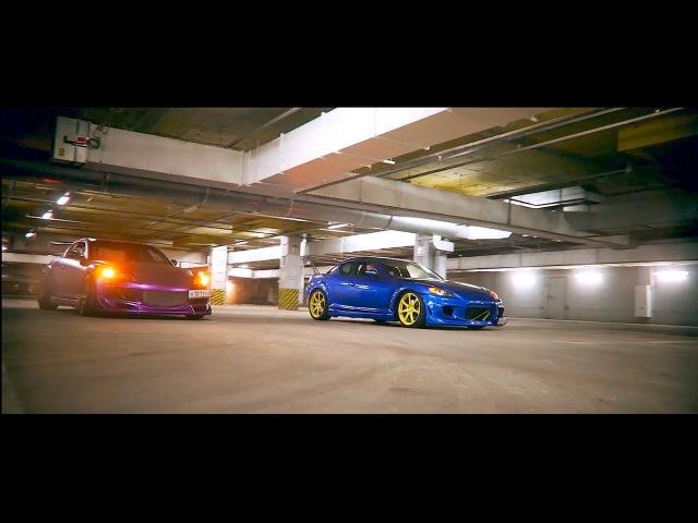 Две свапнутые Mazda Rx8 swap 1JZ GTE и 1UZ, Обзор Mazda Rx8 1JZ GTE и 1UZ в Ростове на Дону