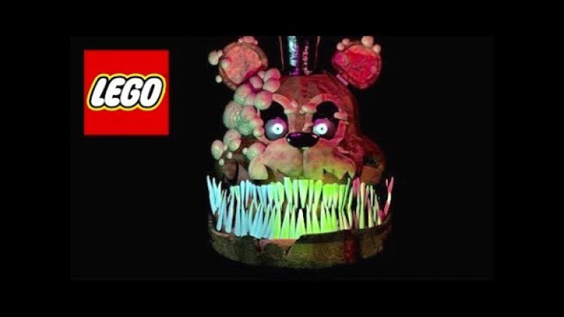 How To Build: LEGO Twisted Freddy || FNAF (The Twisted Ones) - Stop Motion!