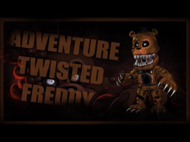 [ FNAF | SpeedEdit ] Making Adventure Twisted Freddy | I'm not dead :)