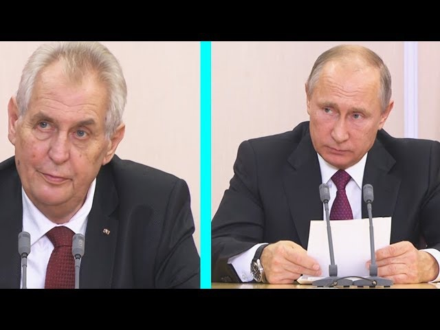 СРОЧНОЕ ЗАЯВЛЕНИЕ ПУТИНА И МИЛОША ЗЕМАНА ПО ИТОГАМ РОССИЙСКО-ЧЕШСКИХ ПЕРЕГОВОР...