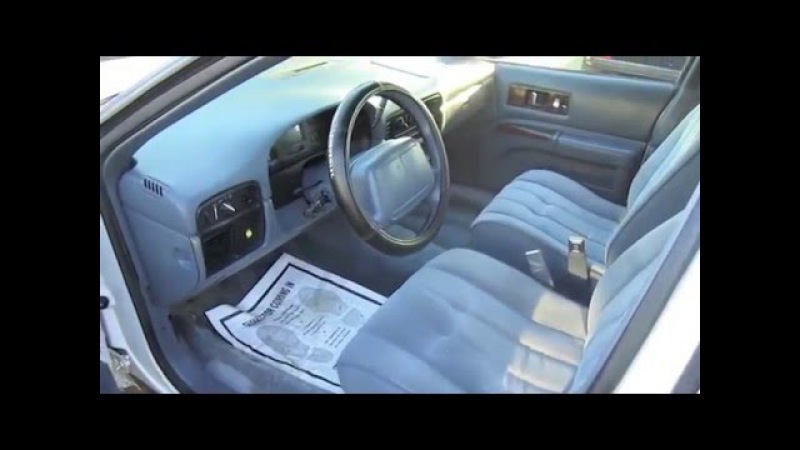 1995 Chevrolet Caprice Classic Ex-Police Interceptor Start Up, Exhaust, and In Depth Tour