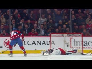 Bobrovsky robs de la Rose with blocker