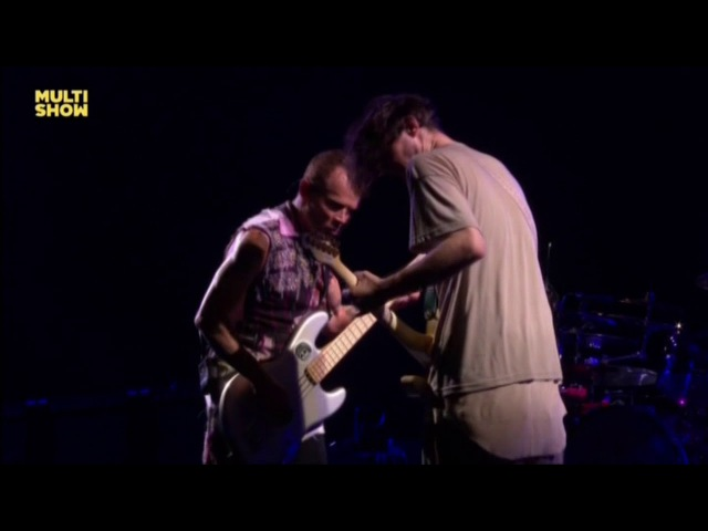 Red Hot Chili Peppers - Californication ao vivo Rock in Rio 2017