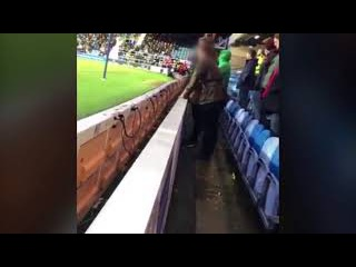 Middlesbrough fan arrested after he urinates in QPR goalkeeper's water bottle