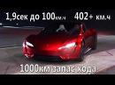 Обзор Tesla Roadster 2020 первые тесты. Самая быстрая Tesla
