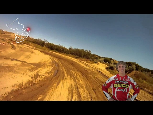 Watch in 2D - Take a Ride on the 2013 Honda CRF450R