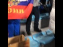 """Дмитрий Губерниев🔝 on Instagram """"Ищу мотивацию перед индивидуальными гонками биатлонистов! Вот так болеют на трибуне Вяльбе , Медведева , Данил..."""