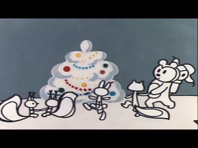 В лесу родилась елочка (1972) Советский мультик | Золотая коллекция