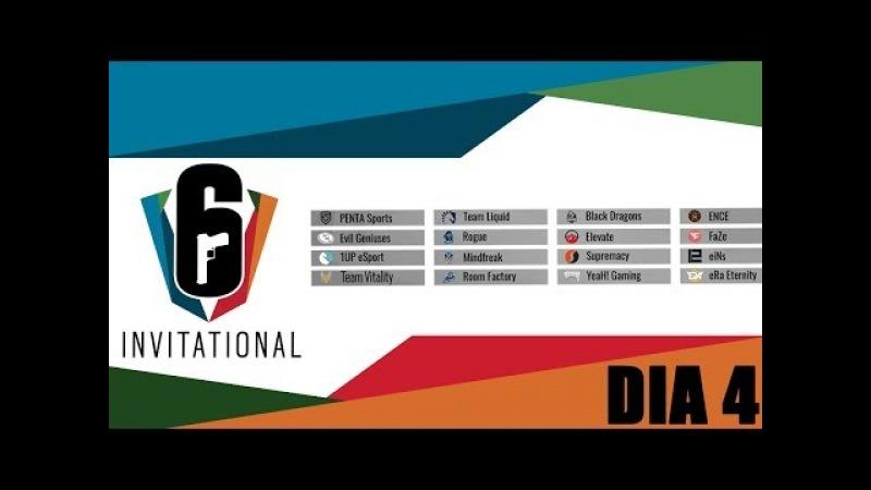 RESUMO SIX INVITATIONAL QUARTAS DE FINAL, VAMO BRASIL!! DIA 4