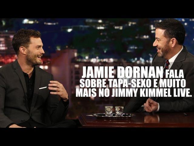 LEGENDADO: Jamie fala sobre tapa-sexo e mais no Jimmy Kimmel Live