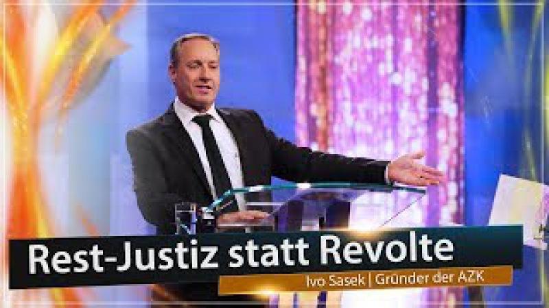 Rest-Justiz statt Revolte - Rede von Ivo Sasek zur 14. AZK | 20.12.2017 | www.kla.tv