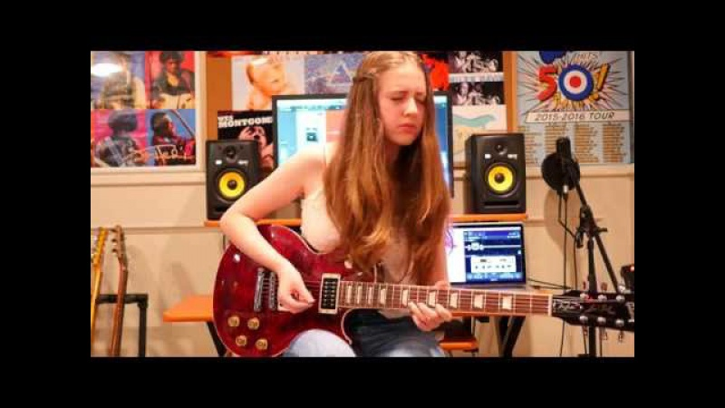 -Since Ive Been Loving You- Guitar Cover by Ayla